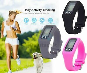 🔥Step Count Activity Tracker Fitness Sport Watch Wrist Pedometer LCD Adult Kid