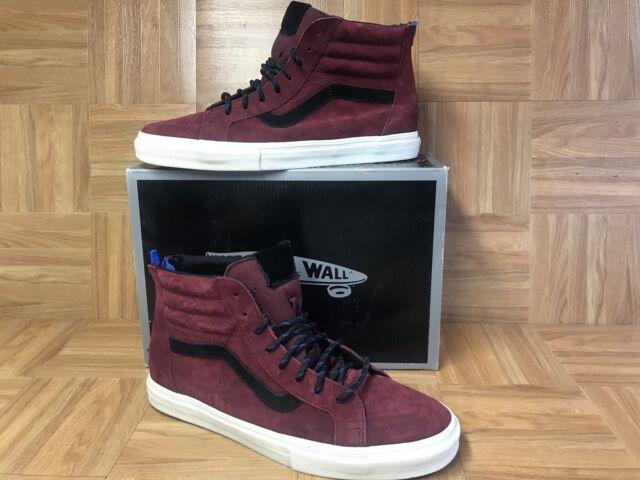 0fdc78cbfa RARE🔥 VANS Sk8-Hi Vault Zip LX Premier Suede Dark Shadow 13 Skateboarding  Shoes