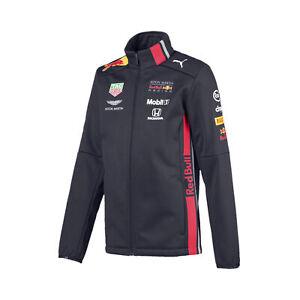 Ravissement Nouveau! 2019 Red Bull Racing F1 Team Enfants Softshell Veste Polaire Enfants Junior-afficher Le Titre D'origine