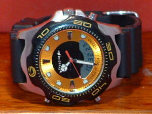 Pre-Owned-Men-s-Freestyle-208-Divers-Analog-Digital-Watch