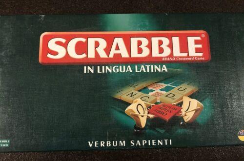 Complete Scrabble in Lingua Latina Verbum Sapienti Tinderbox Games