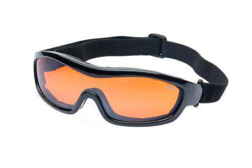 Ravs Sportbrille Schutzbrille  Skibrille Kitesurfbrille mit Band  Glas Antifog