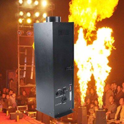 DMX Flame Thrower Stage Show DJ Party 200W Fire Sprayer Effect Projector Machine