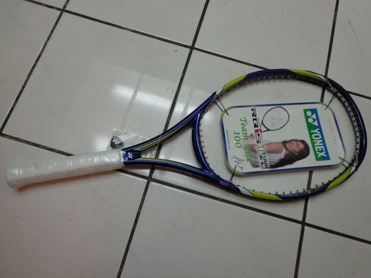NEW Yonex RQ IS 1 1 1 Tour 100 head XL 4 1/2  grip Tennis Racquet 17074c