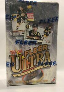1993-Fleer-Ultra-series-1-NHL-Hockey-Card-Box-36-packs-Factory-Sealed