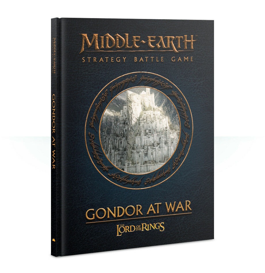 Middle Earth Gondor at War (English) Games Workshop Lord of the Rings Hobbit Hdr