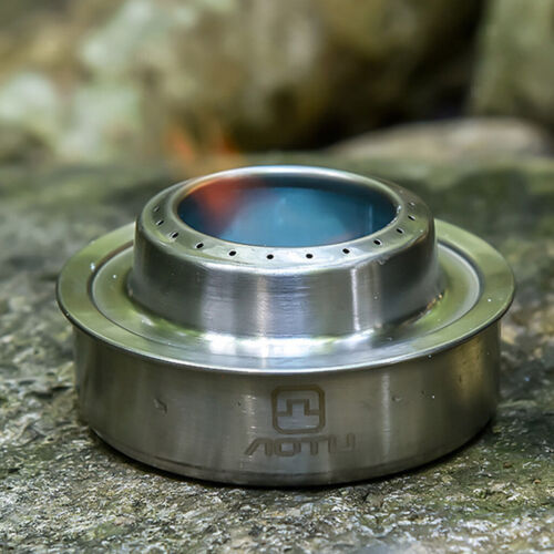 Portable Alcohol Spirit Stove Burner Outdoor Cooking Camping Stove