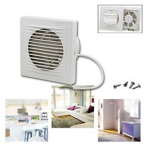 wandventilator l fter abluft ventilator k che wc kleinraum leise 150 mm lager ebay. Black Bedroom Furniture Sets. Home Design Ideas
