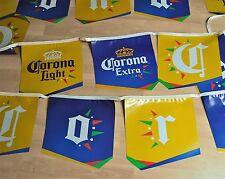 Große Corona Extra Beer Bier USA Wimpel Girlande Flaggen Partykette Party Kette