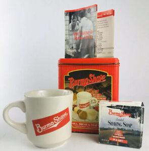Vintage-Burma-Shave-Mug-amp-Soap-With-Can