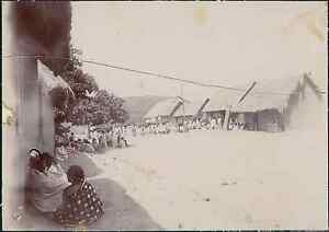 Madagascar-Un-bal-de-dimanche-a-Marotandrano-1901-vintage-citrate-print-Ti