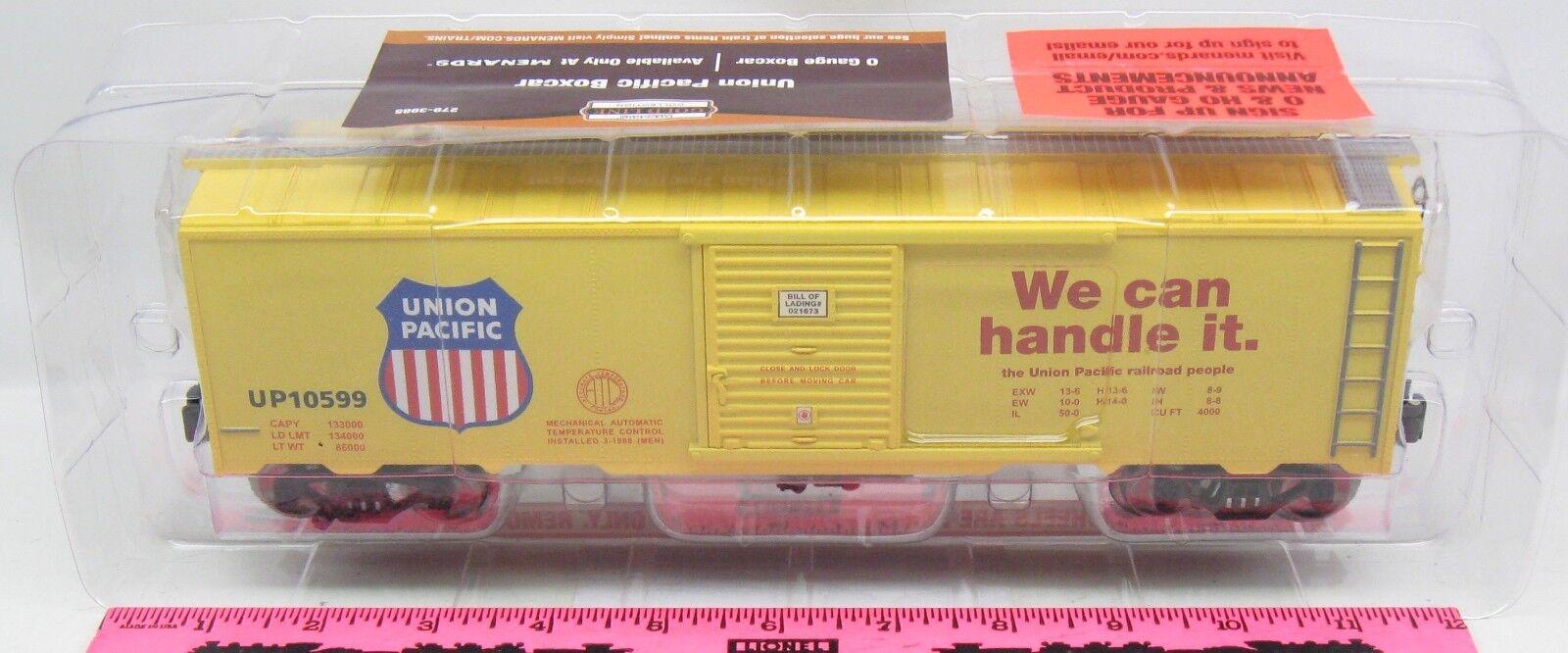 Menards  O Gauge Union Pacific Boxcar
