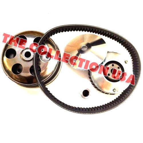 Transmission Clutch Rebuild Kit Variator Pulley Belt For Honda Helix Cn250