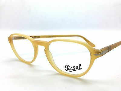 New Authentic PERSOL 3053-V 9010 Matte Miele Yellow RX 50mm Eyeglasses NO CASE