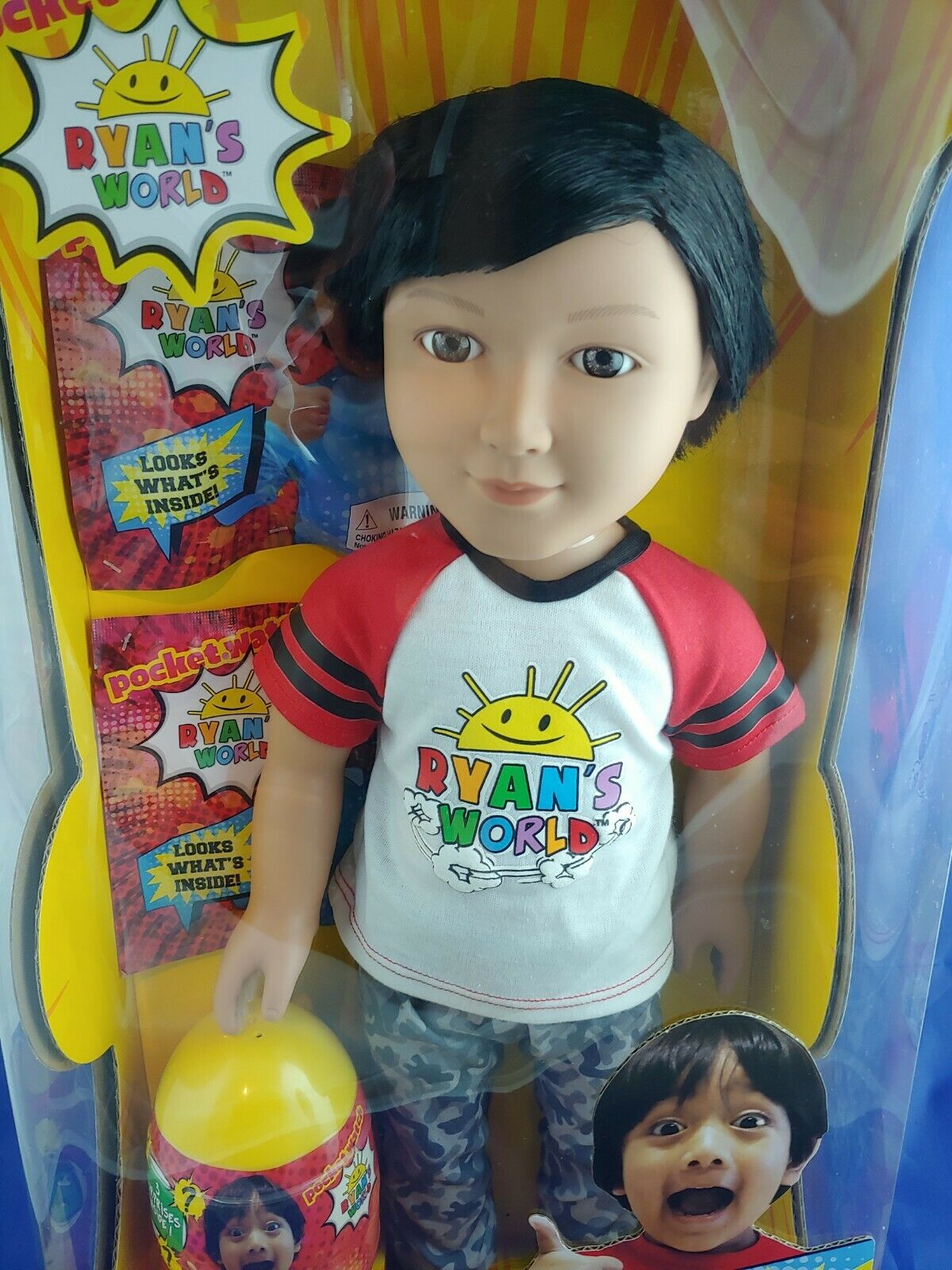NEW Ryan's World My Life doll - brand new in sealed box + Free Shipping