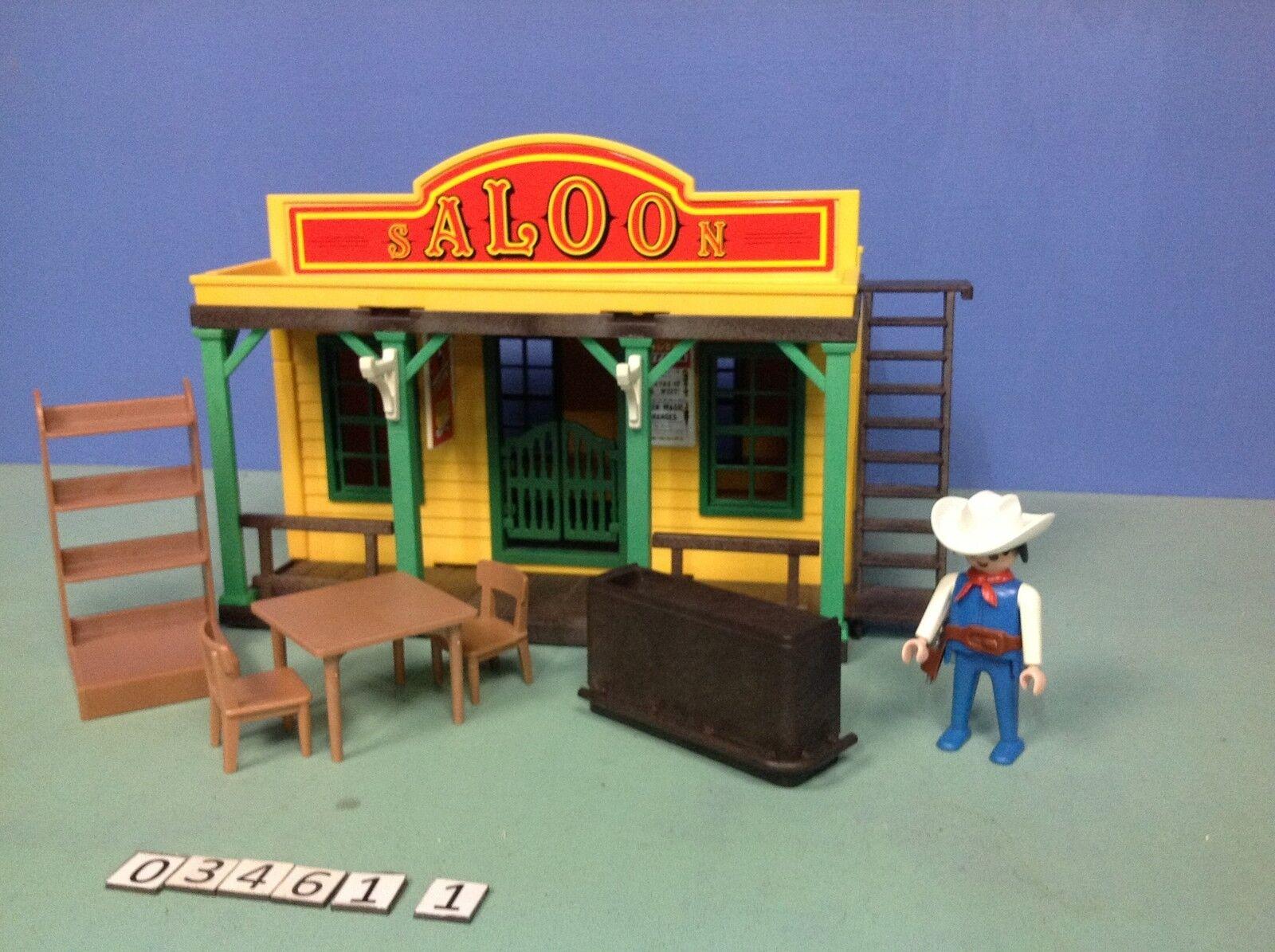 (O3461.1) playmobil Saloon western ref 3461