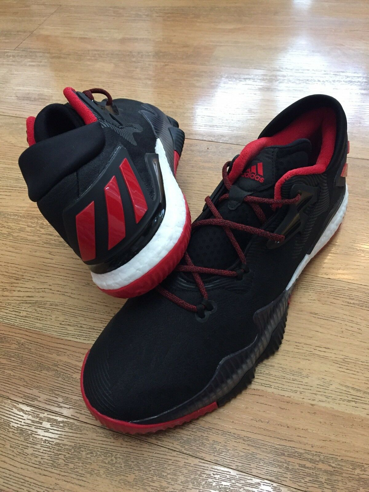 ADIDAS CRAZYLIGHT BOOST BASKETBALL JAMES JAMES JAMES HARDEN SZ 14 ROCKETS PE COLOR NBA SHOES f56722