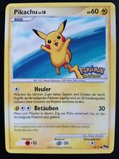 Series 9 Promo Mint Promo Day 2009 Germany Pikachu 15/17 Stamped