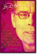 STEPHEN KING PHOTO PRINT THE SHINING THE GREEN MILE POSTER GIFT
