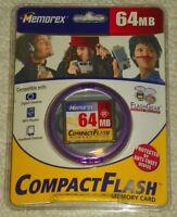 Memorex 64 Mb Compactflash Memory Card -