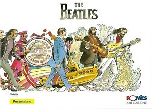 2017-Folder-Romics-The-Beatles-XXII-Edizione-Limitata-3000-Italy-Italie-Comic-LE