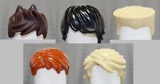 LEGO Ninjago Set of 5 hair pieces (LOOSE) fits - Lloyd Cole Kai Jay & Zane