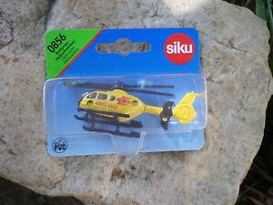SIKU-0856-HELICOPTERE-AMBULANCE-Neuf-boite-blister-scelle