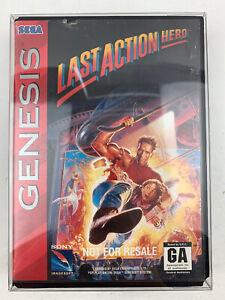 Last Action Hero Not For Resale Sega Genesis Game Complete CIB Tested Works