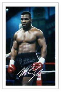 MIKE TYSON Signed Autograph PHOTO Fan Gift Signature Print BOXING Boxer