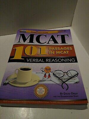 Examkrackers 101 Passages in MCAT Verbal Reasoning