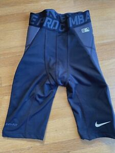 Nike Pro Combat Pantalones Cortos Deslizante De Beisbol Talla Pequena Para Hombre Ebay