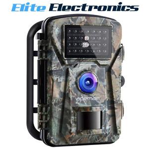 Apeman H45 16MP 1080P Infrared Night Vision Hunting Trail Camera IP66 PIR Sensor