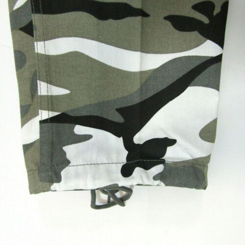 Da Uomo Adulti pantaloni da combattimento BIG Camouflage Camo pantaloni con tasconi tasche vita 28 50