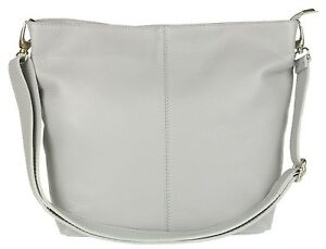 6695c17f31 New Italian Genuine Soft Real Leather Shoulder Bag Fashion Designer ...
