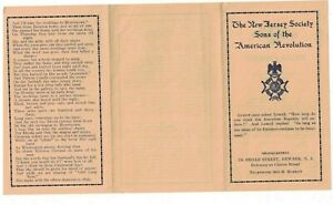 New-Jersey-Society-Sons-of-the-American-Revolution-SAR-Rhoda-Farrand-Brochure