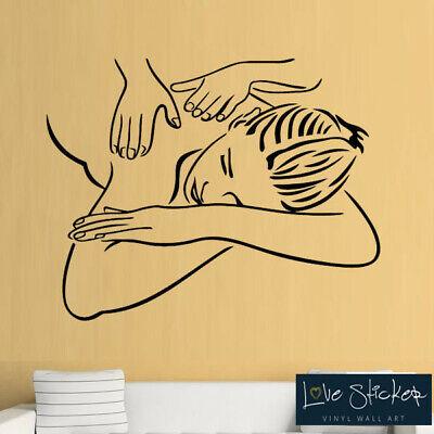 Wall Stickers Girl Beauty Salon Make Up Spa Girls Bedroom Art Decals Vinyl Home