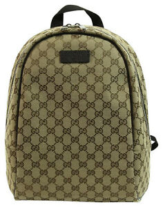 983d15c936ee Image is loading NEW-AUTHENTIC-GUCCI-449906-Canvas-GG-Guccissima-Travel-