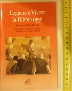 LEGGERE-E-VIVERE-LA-BIBBIA-OGGI-LIBRO-COMPLETO-IN-ECCELLENTE-CONSERVAZIONE