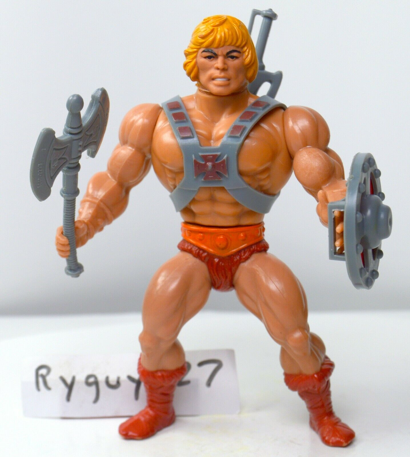 MOTU, He-Man, Masters of the Universe, Jahr, complete, original, figure, 100%