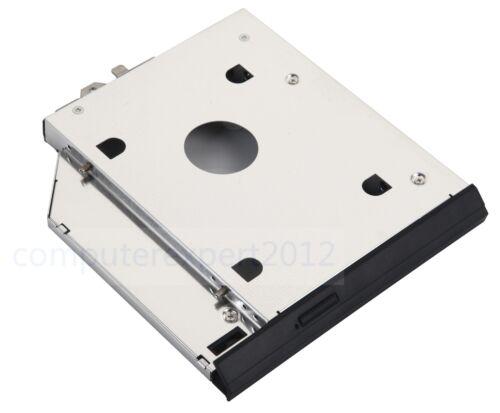 Faceplate Bracket 2nd HDD SSD Caddy for HP EliteBook 8560w 8570w 8760w 8770w