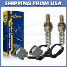 2x Oxygen O2 Sensor Up+Downstream For Honda Accord 2.3L 98-02 F23A1&F23A5 Engine