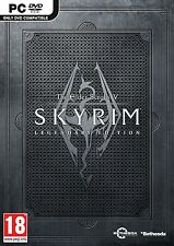 The Elder Scrolls V: Skyrim Legendary Edition ( PC GAME ) NEW SEALED (PC-DVD)