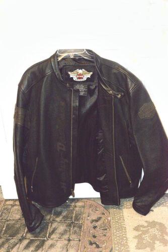 Mens Leather Harley Jacket XXL