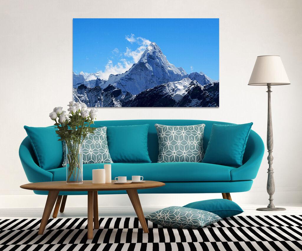 3D Kalter Schnee Bergspitze 734 Fototapeten Wandbild BildTapete AJSTORE DE Lemon