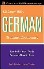 McGraw-Hill's German Student Dictionary (McGraw-Hill Dictionary)-ExLibrary
