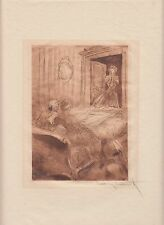 Mon Dieu!, by Louis Icart, original 1946 erotic etching