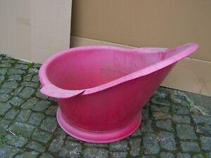 Vasca Da Bagno Rossa : Decorativi vecchio rosso semicupio culto pink vasca da bagno