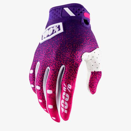 2018 100/% Ridefit Motocross Mx Motorrad Handschuhe Pink//Lila MTB
