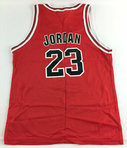 size 40 58673 1af49 Vintage Champion Chicago Bulls #23 Michael Jordan Kids NBA Jersey Youth XL