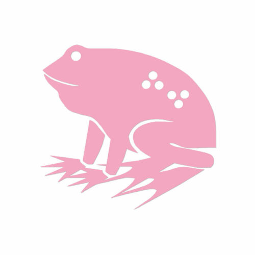 Multiple Color /& Sizes Frog Toad Cute Vinyl Decal Sticker ebn331